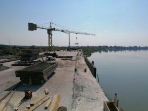 Geodetsko praćenje – luka Slavonski Brod